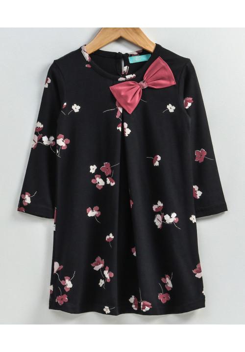 Peach Buds Dress