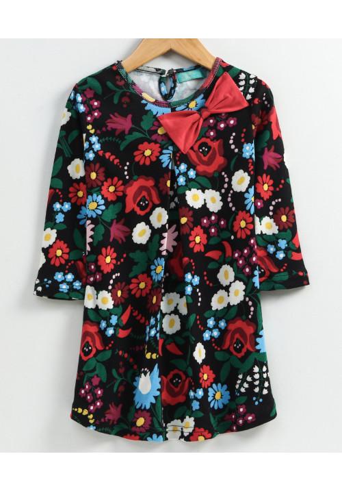 Bright Roses Dress