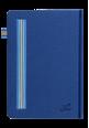 Italian Leather Notebook 2018 Blue