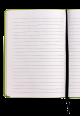Italian Leather Notebook 2018 Green