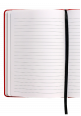 Italian Leather Notebook 2018 Red