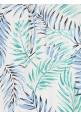 Blue Palm Jumpsuit