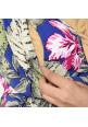 TIARA NAVY FLORAL MAXI DRESS