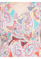 Tiara maternity multicolor maxi dress