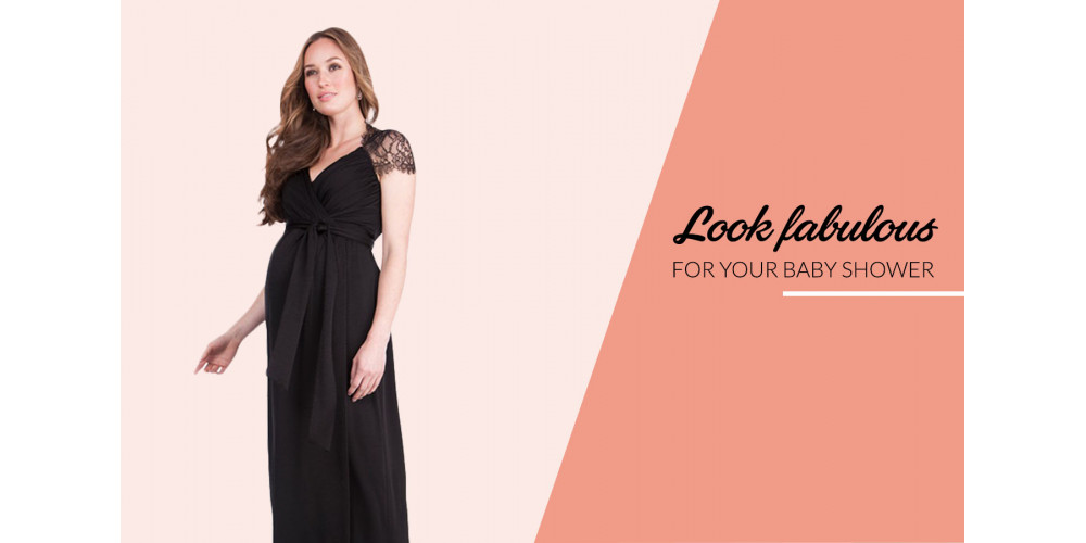 Look fabulous for your baby shower