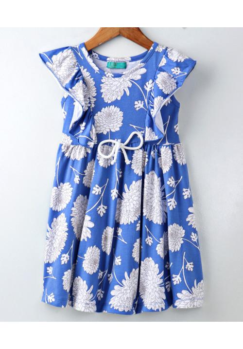 White Carnition Dress