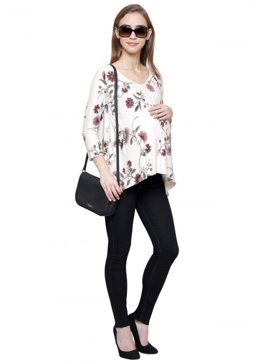 Flower Short Tunic