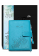 M.O.M diary blue